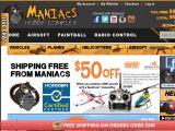 Maniacshobbycomplex.com Coupon Codes