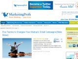 Marketingprofs Coupon Codes
