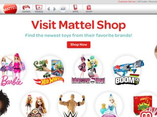 Shop at mattel.com