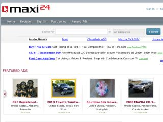 Shop at maxi24.us