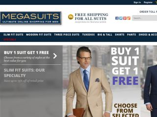 Shop at megasuits.com