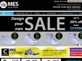 Browse Mes Footwork - Custom Shoes