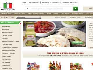 Shop at mexgrocer.com