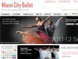 Browse Miami City Ballet
