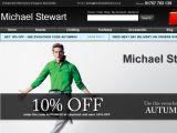 Browse Michael Stewart Designer Menswear