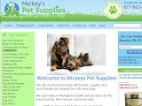Browse Mickey's Pet Supplies