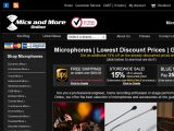 Browse Mics and More Online
