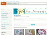 Missmonogram.etsy.com Coupons
