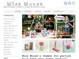 Missmouseboutique.co.nz Coupons