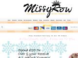 Missyrow.co.uk Coupons