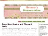 Mommysmemorandum.com Coupon Codes