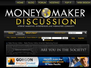 Shop at moneymakerdiscussion.com