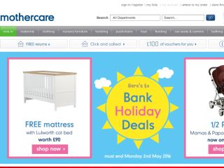 Shop at mothercare.com