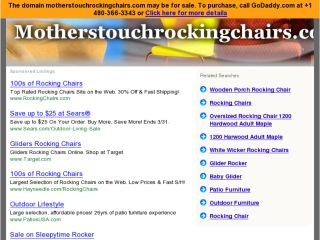 Shop at motherstouchrockingchairs.com