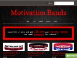 Motivation-Bands.com Coupon Codes