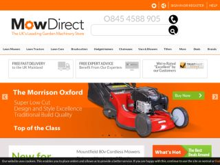 Shop at mowdirect.co.uk