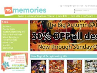 Shop at mymemories.com