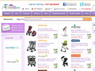 Shop at mystrollers.com