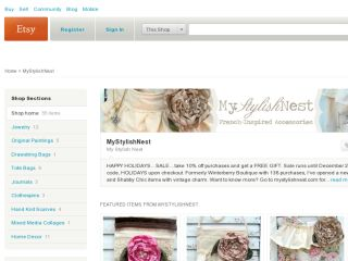 Shop at mystylishnest.etsy.com