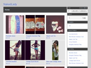 Shop at nakedlady.bigcartel.com