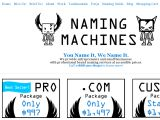 Browse Naming Machines