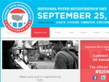 Nationalvoterregistrationday.org Coupon Codes