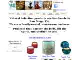 Browse NATURAL SELECTION BATH AND BODY