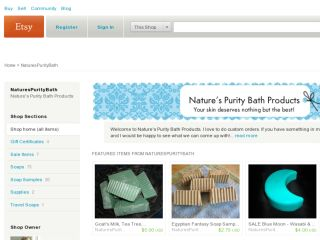 Shop at naturespuritybath.etsy.com