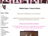 Browse Nellie Bug's Tutus & More