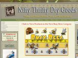 Browse Nifty Thrifty Dry Goods