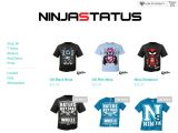 Ninjastatusapparel Coupon Codes