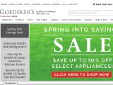Number1direct By Goedeker's Coupon Codes