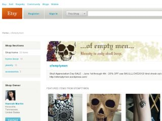 Shop at ofemptymen.etsy.com