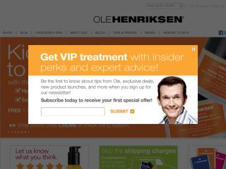 Shop at olehenriksen.com