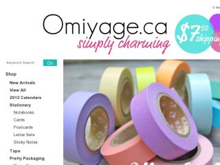 Shop at omiyage.ca