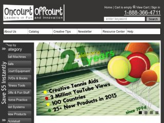 Shop at oncourtoffcourt.com