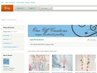 Shop at oneoffcreations.etsy.com