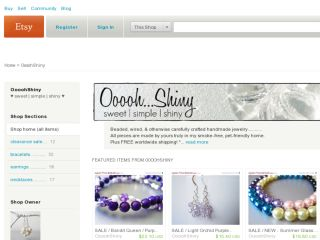 Shop at oooohshiny.etsy.com