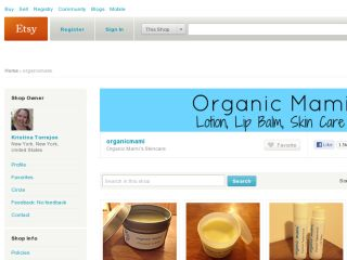 Shop at organicmami.etsy.com