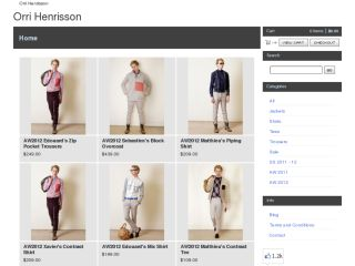 Shop at orrihenrisson.bigcartel.com