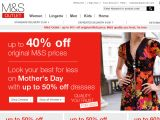Outlet.marksandspencer.com Coupon Codes