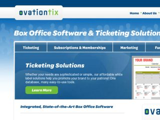 Shop at ovationtix.com