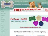 Browse Overnight Pet Tags