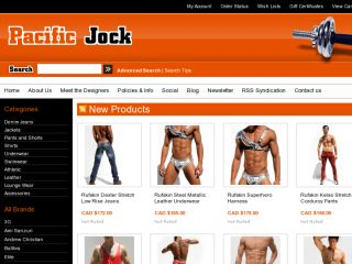 Shop at pacificjock.com