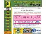 Packertime.com Coupons