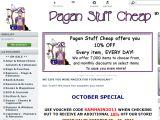 Paganstuffcheap.com Coupons
