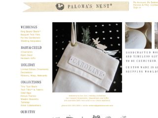 Shop at palomasnest.com