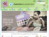 Browse Pandora's Makeup Box