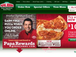 Shop at papajohns.com