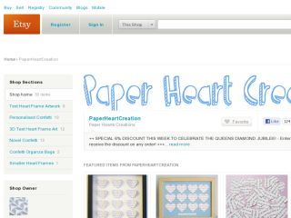 Shop at paperheartcreation.etsy.com